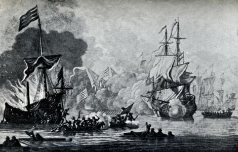 Los españoles que hundieron el HMS MARY ROSE