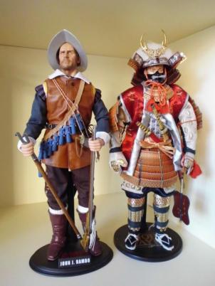 INFANTES de MARINA españoles contra Samurais