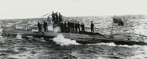 El U-20, al mando del Kapitänleutnant Walther Schweiger