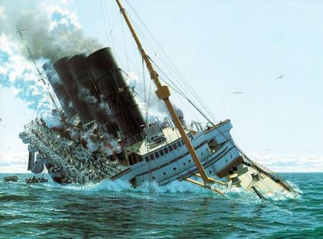 1915: El HUNDIMIENTO del RMS Lusitania