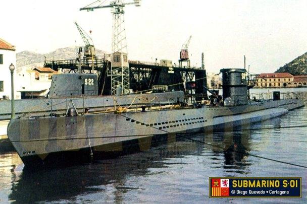 Submarino G-7 (Diego Quevedo Carmona)