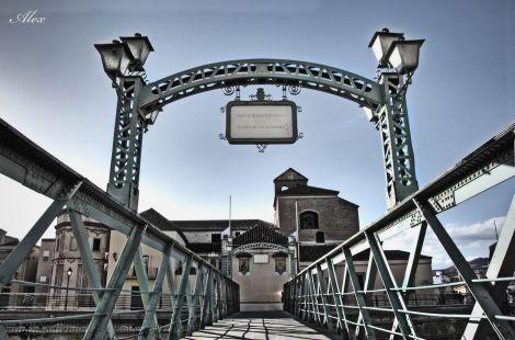 Puente de los alemanes en Málaga