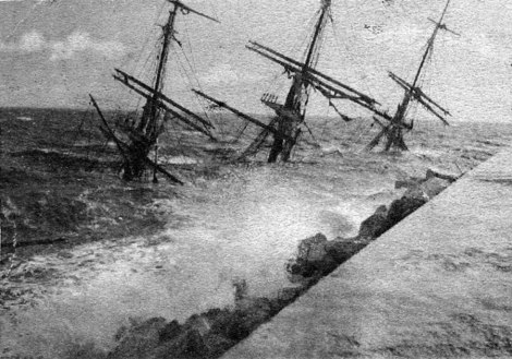 Schiffbruch gneisenau puente de los alemanes malaga die Brücke der Deutschen (0)