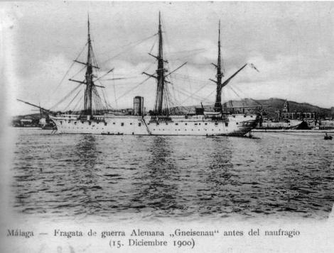 Schiffbruch gneisenau puente de los alemanes malaga die Brücke der Deutschen (11)