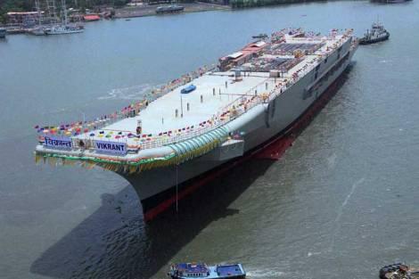 Como se puede ver, aúnque queda trabajo por delante. La Armada india espera poder iniciar las pruebas de mar en 2016 para entrar en servicio en 2018.