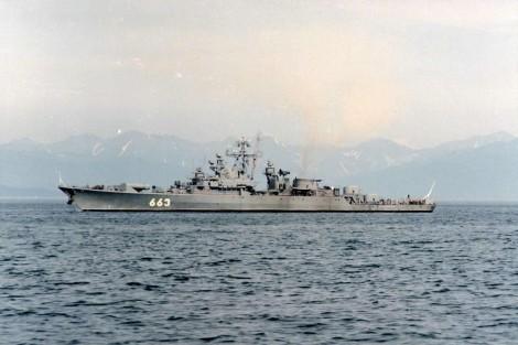 La fragata Storozhevoy en 1991