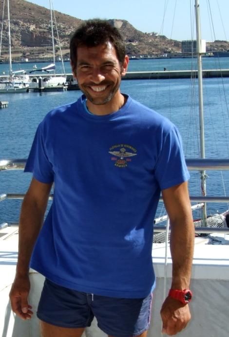 Los amigos d ela Flotilla de Aeronaves de la Armada me regalaron esta camiseta tan chula y exclusiva..