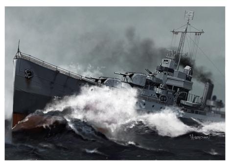 Destructor USS Moffet