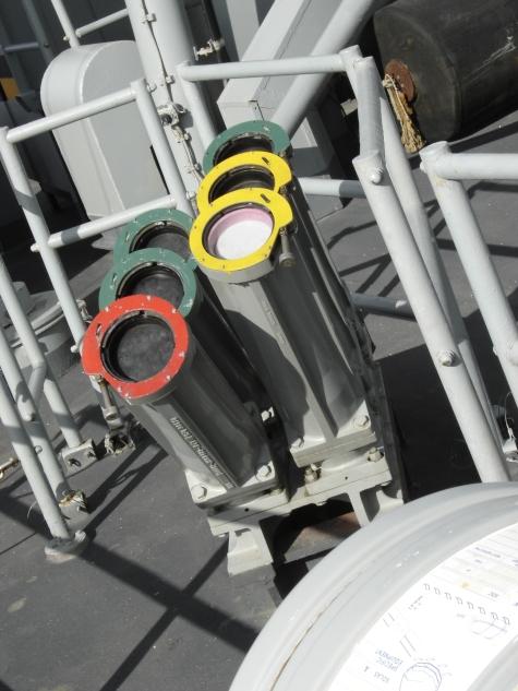 lanzaseñuelos Mk36 de la fragata F-81