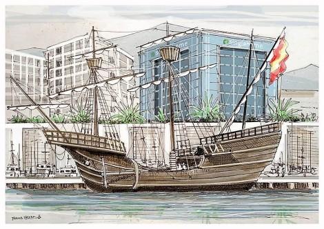 Magallanes Elcano Nao Victoria Marbella Sanlucar Barrameda Foro Naval (4)