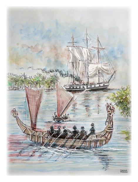 Maori Paniora Nueva Zelanda España Foro Naval (3)