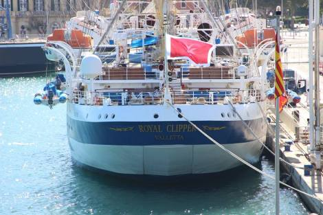Crucero Velero Royal Clipper LyingP Foro Naval (07)