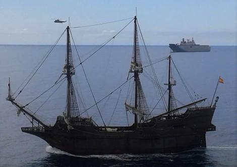 galeon andalucia fundacion nao victoria buque proyeccion estrategica lhd juan carlos i armada española quinta escuadrilla floan foro naval (6)