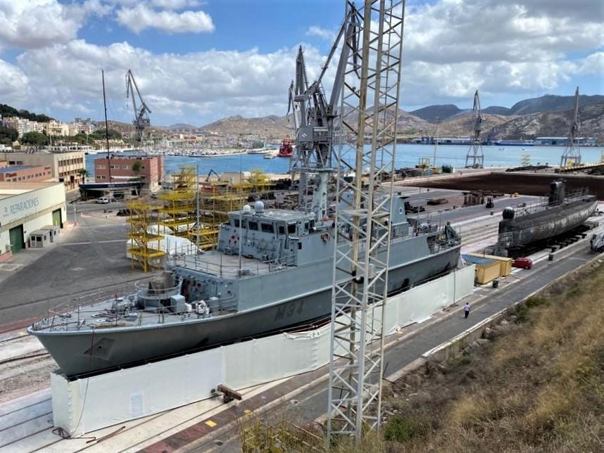 cazaminas turia m34 foro naval cartagena navantia