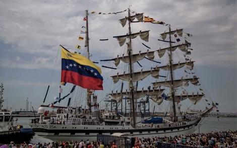 BUQUE ESCUELA ARBV Simón Bolivar BE-11 FORO NAVAL pepe cano
