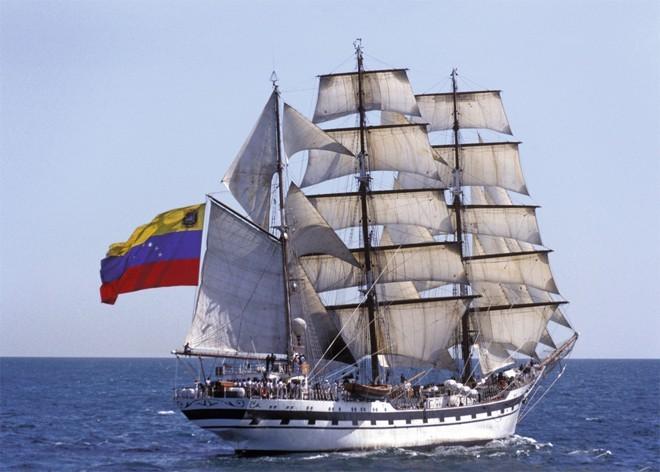 BUQUE ESCUELA ARBV Simón Bolivar BE-11 FORO NAVAL