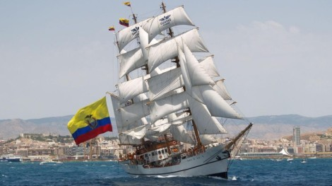 BUQUE ESCUELA BAE Guayas BE-21 FORO NAVAL