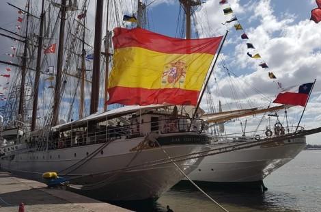 BUQUE ESCUELA JUAN SEBASTIAN ELCANO ESMERALDA ARMADA ESPAÑA CHILE VELERO INSTRUCCION FORO NAVAL (32)