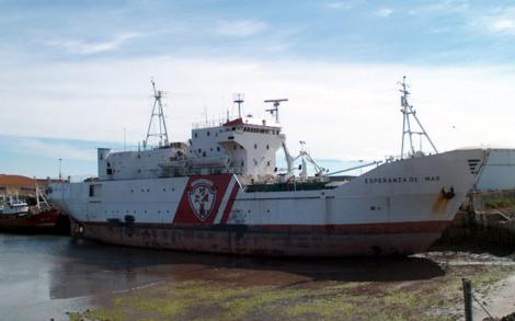 Buque hospital esperanza del mar I foro naval