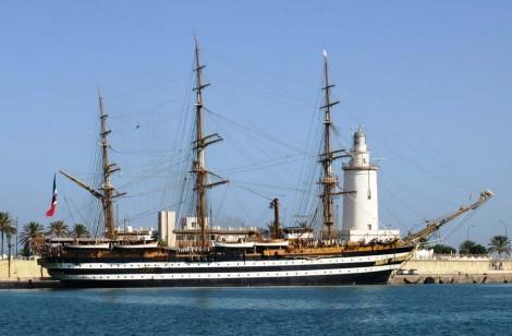 nave scuola Cristoforo colombo buque escuela amerigo vespucci foro naval (13)