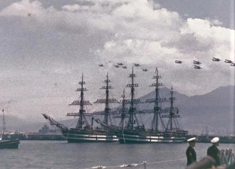 nave scuola Cristoforo colombo buque escuela amerigo vespucci foro naval (17)