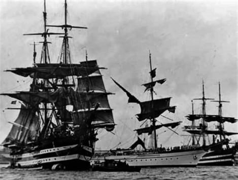 nave scuola Cristoforo colombo buque escuela amerigo vespucci foro naval (25)