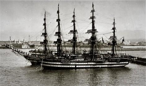 nave scuola Cristoforo colombo buque escuela amerigo vespucci foro naval (28)