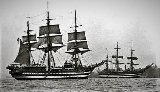 nave scuola Cristoforo colombo buque escuela amerigo vespucci foro naval (35)