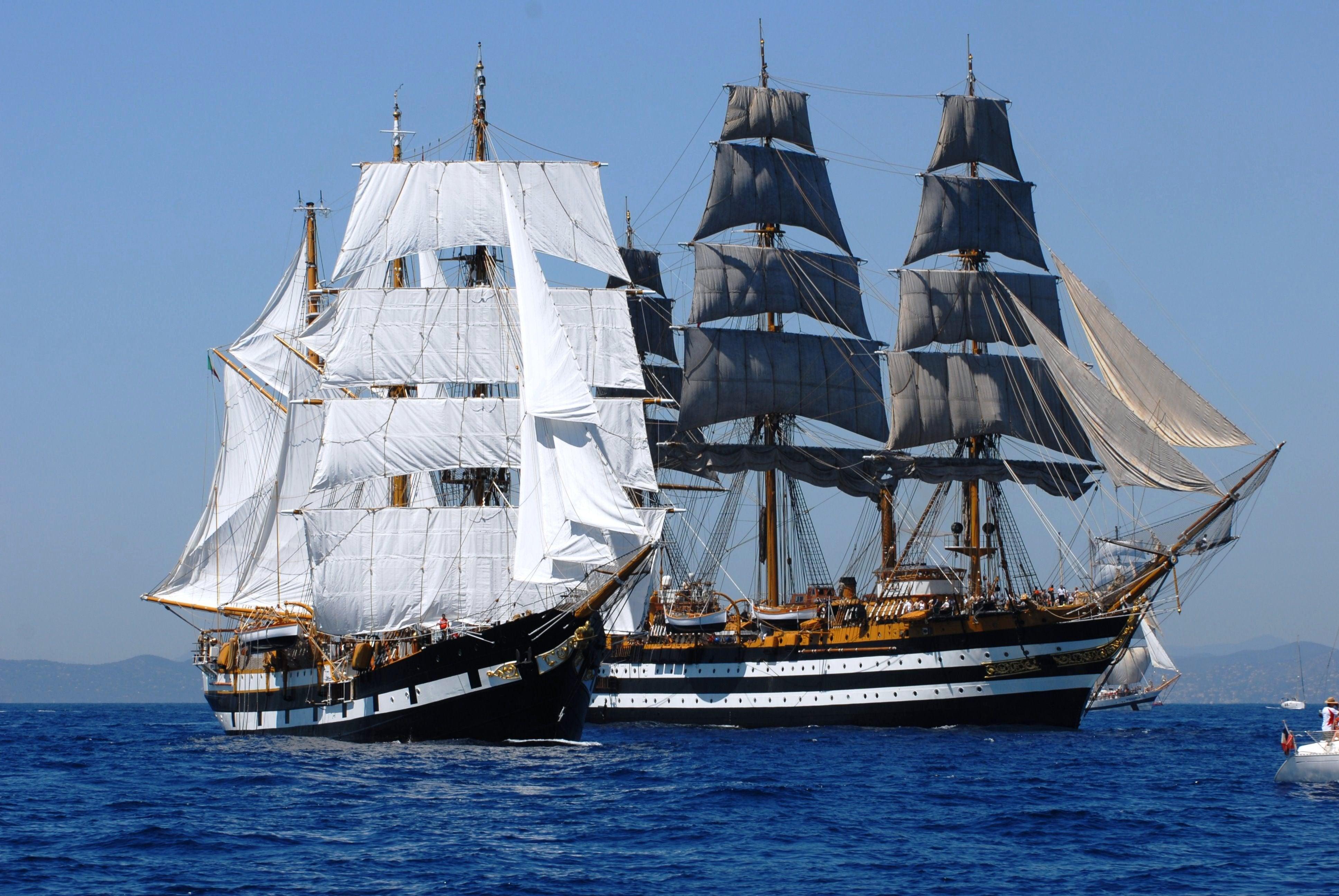 nave scuola Cristoforo colombo buque escuela amerigo vespucci foro naval (37)