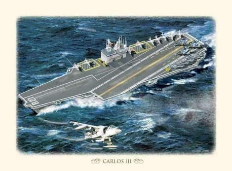Portaaviones R-21 Carlos III Foro Naval