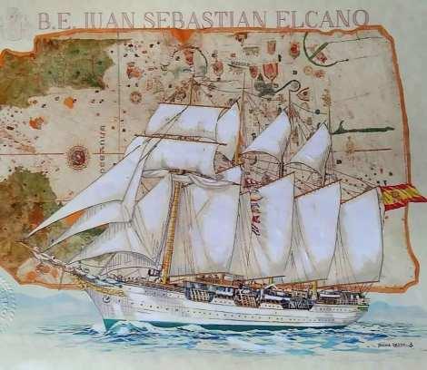Buque Escuela Juan Sebastian de Elcano CoVid 19 Coronavirus (7)