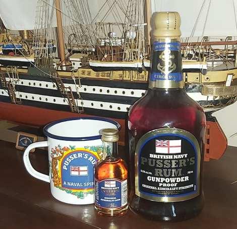 Grog ron palido Montero motril pusser royal navy armada gibraltar Foro Naval (12)