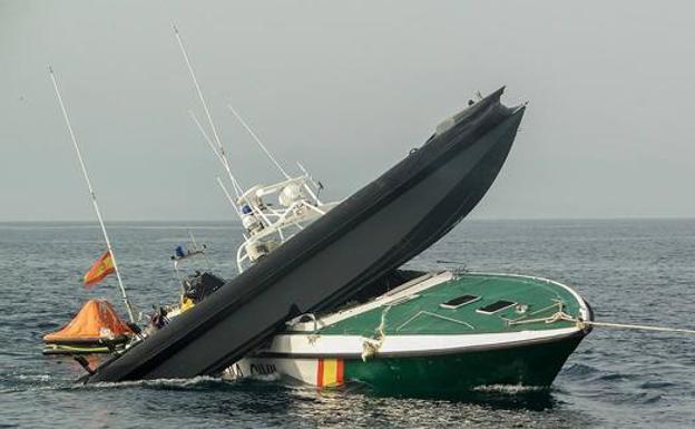 Servicio Maritimo Guardia Civil SEMAR Rodman 55 Foro Naval (o)