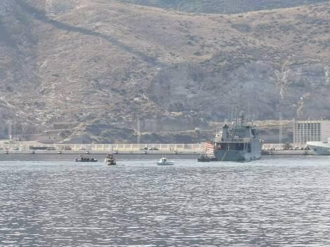Naufragio empujadora Tren Naval Arsenal Cartagena Armada Española (3)