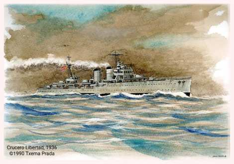 FLOREN DIMAS FORO NAVAL CRUCERO LIBERTAD HMS GALATEA GUERRA CIVIL ESPAÑOLA (3)